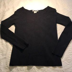 Women's Michael Kors black lighter weight sweater